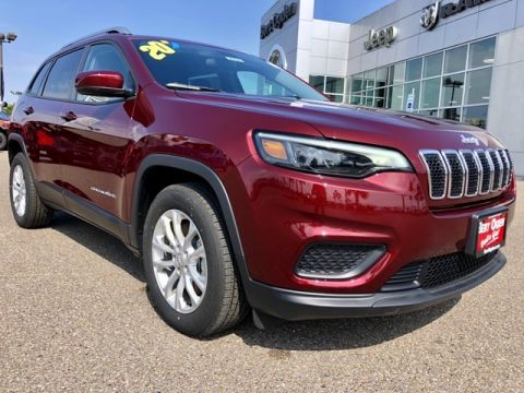 New 2020 Jeep Cherokee Latitude FWD 4D Sport Utility
