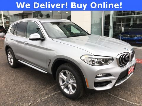 New 2020 BMW X3 xDrive30i AWD 4D Sport Utility